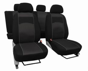 Fundas de asiento a medida Vip FIAT DOBLO Multijet 7x1 (2000-2006)