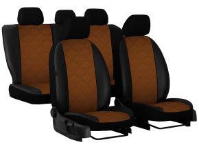 Fundas de asiento a medida Piel con impresión AUDI A4 B6 S-LINE (2000-2006)