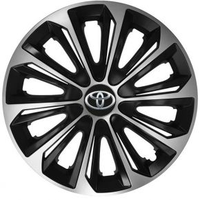 """Puklice pre TOYOTA 14"""", STRONG DUOCOLOR 4ks"""