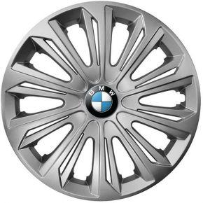 "Puklice pre BMW 14"", STRONG SIVÉ 4ks"