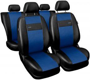 Fundas de asiento universales X-Line azul
