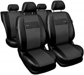 Fundas de asiento universales X-Line gris