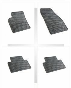 Alfombrillas de goma para VOLVO S40 4 piezas 2004-2011