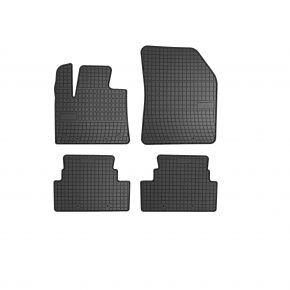 Alfombrillas de goma para OPEL GRANDLAND X 4 piezas 2017-up