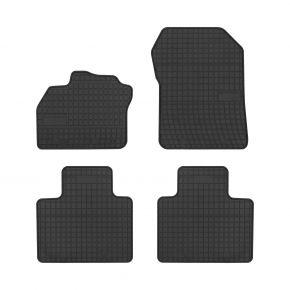 Alfombrillas de goma para RENAULT ZOE 4 piezas 2012-up