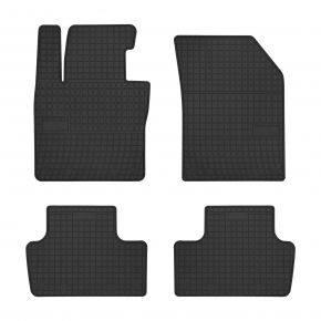 Alfombrillas de goma para VOLVO XC60 II 4 piezas 2017-up