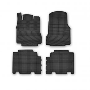 Alfombrillas de goma para MERCEDES A-CLASS W168 LONG 4 piezas 2001-2004
