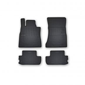 Alfombrillas de goma para MERCEDES S-CLASS W222 COUPE 4 piezas 2013-up