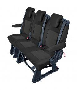 Fundas de asiento a medida Tailor Made pre Ford Transit Custom -2018