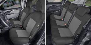 Fundas de asiento a medida Tailor Made pre FIAT DOBLO IV 5p. (2015→)