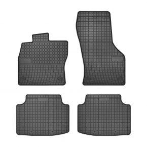 Alfombrillas de goma para VOLKSWAGEN PASSAT B8 4 piezas 2014-up