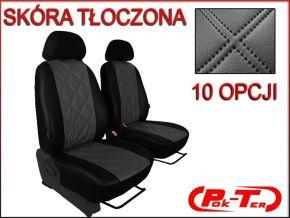 Fundas de asiento a medida Piel con impresión FIAT DUCATO II 1+1 (1996-2006)
