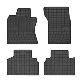 Alfombrillas de goma para INFINITI Q50 4 piezas 2013-up