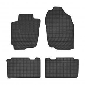 Alfombrillas de goma para TOYOTA RAV 4 IV 4 piezas 2013-up