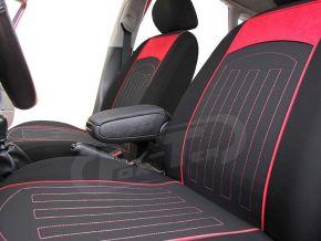 Fundas de asiento a medida Rombo (acolchado) FIAT PANDA