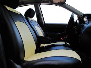 Fundas de asiento a medida de Piel FIAT 500L
