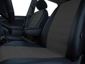 Fundas de asiento a medida Piel con impresión FIAT 500