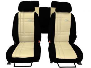 Fundas de asiento a medida de Piel Stype FIAT 500L