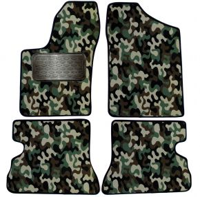 Army car mats Fiat Seicento 4ks 1998-2009