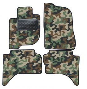 Army car mats Fiat Fullback 2016-up 4 ks