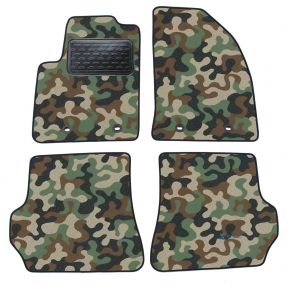 Army car mats Ford Fiesta 2003-2008 4ks