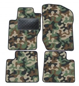 Army car mats Mercedes ML W164 2005-2013  4ks