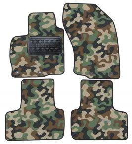 Army car mats Mitsubishi Outland 02-10/C-CROSS PEUG 4007 ASX