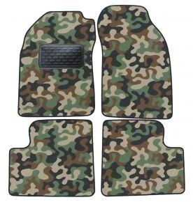 Army car mats Nissan Micra K11  1992-2002 4ks