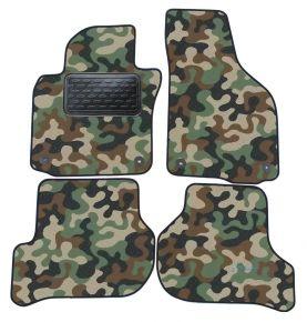 Army car mats Skoda Octavia II /GOLF V/ GOLF VI /JETTA