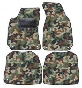 Army car mats Skoda Super B 2002-2008 4ks