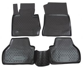 Alfombrillas de goma BMW X3 F25  2010-2014  2014-up  4 piezas