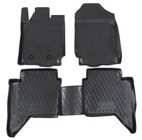 Alfombrillas de goma FORD FORD Ranger  4 doors  2012-up 4 piezas