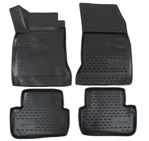Alfombrillas de goma MERCEDES A-class W176  2012-up  4 piezas