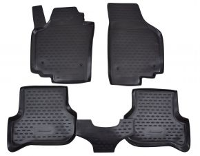 Alfombrillas de goma SEAT Altea 2005-2009   4 piezas