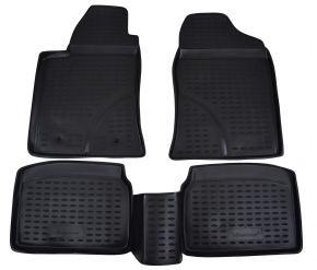 Alfombrillas de goma TOYOTA Avensis  2003-2009  4 piezas
