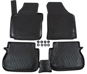 Alfombrillas de goma VW Caddy  2015-up  4 piezas