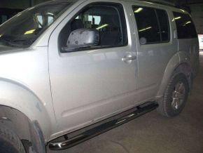 Marcos laterales de acero inoxidable para Nissan Pathfinder