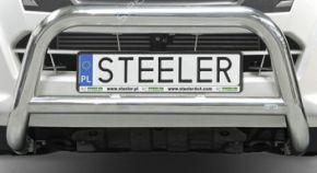 Bullbar delanteros Steeler para RENAULT TRAFIC 2001-2014 Modelo A