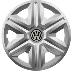 "Tapacubos para VOLKSWAGEN 16"", ACTION GRIS 4 pzs"
