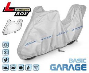 Funda para moto BASIC GARAGE 215-240 cm + maletero