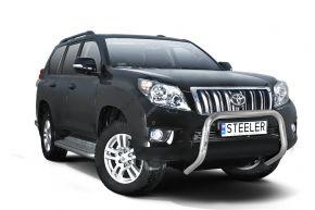 Bullbar delanteros Steeler para Toyota Land Cruiser 150 2010-2013 Modelo U