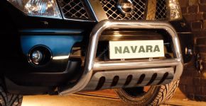Bullbar delanteros Steeler para Nissan Navara 2005-2010 Modelo S