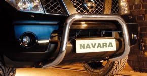 Bullbar delanteros Steeler para Nissan Navara 2010-2015 Modelo U