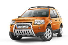 Bullbar delanteros Steeler para LAND ROVER FREELANDER II 2007-2014 Modelo S