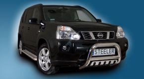 Bullbar delanteros Steeler para NISSAN X-TRAIL 2010-2014 Modelo S