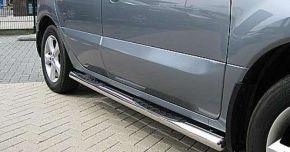 Marcos laterales de acero inoxidable para Mitsubishi ASX