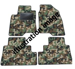 Army car mats BMW 6 E64 cabrio 2004-2010 4ks