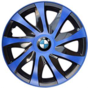 "Tapacubos para BMW 16"", DRACO AZUL 4 pzs"