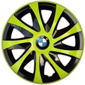 "Tapacubos para BMW 14"", DRACO VERDE 4 pzs"