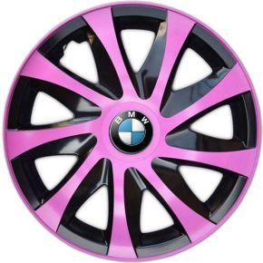 """Tapacubos para BMW 14"""", DRACO ROSA 4 pzs"""